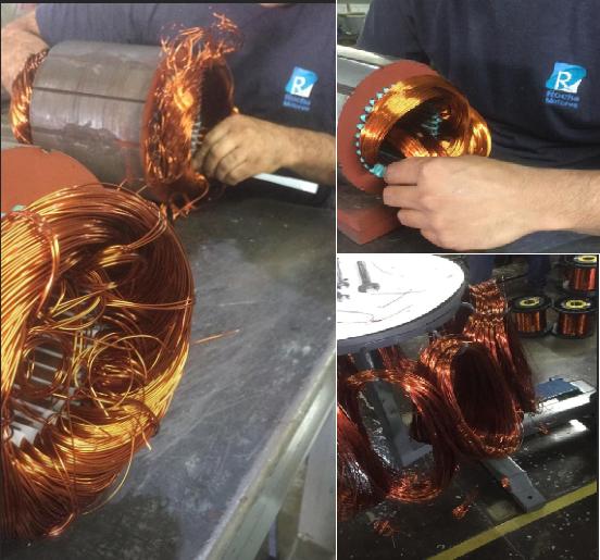 Fabricação de bobinas