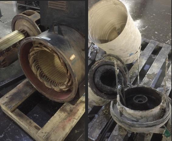 Montagem e desmontagem de motores elétricos